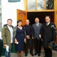 Є. Лозінський; Н. Кондратюк; О. Пажимський; І. Русий ;Ю. Гжимайло