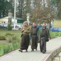 Представники монастиря братів менших Капуцинів