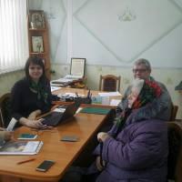 Спільна робота спеціалістів Пенсійного фонду та Чернігівської районної організації ветеранів.