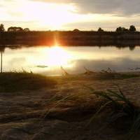 Захід сонця на р. Десна