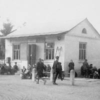 Автостанція, смт. Короп, 60-ті роки