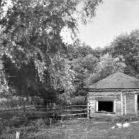 Криничка біля плавучого мосту, смт. Короп, 70-ті роки