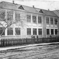 Школа (згоріла в повоєнні роки)