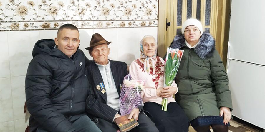 Найстаршому жителю села Неданчичі Байдак Олександру Івановичу виповнилося 103 роки!