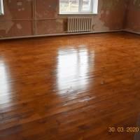 Нова  дерев'яна підлога