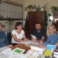 Засідання постійної комісії селищної ради з питань бюджету
