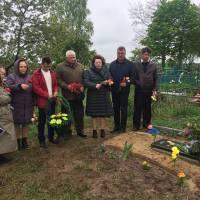 Відкриття пам'ятника Невідомому солдату в с. Гірманка
