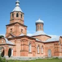 Свято Миколаївська церква. Побудована 1902 р. на кошти селян. село Смолянка