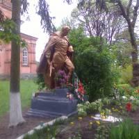 Братська могила. село Смолянка.