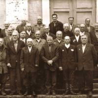 Ветерани Другої світової війни. село Смолянка. Друга половина 80-х років