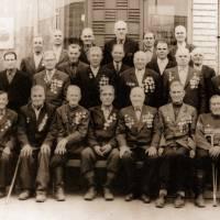 Ветерани Другої світової війни. село Смолянка. 1980-й рік