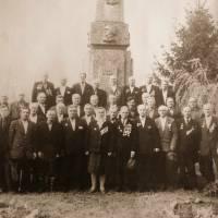 Ветерани Другої світової війни. село Смолянка. 1970-ті роки