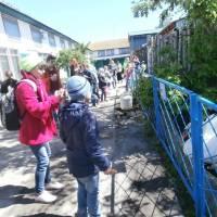Учні у зоопарку м.Мена