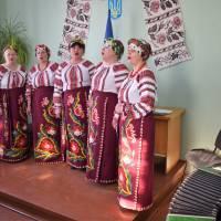 невеличкий концерт після зборів в с.Слобода