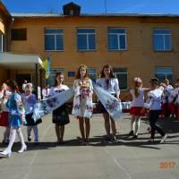 свято вишиванки у Іванівській ЗОШ