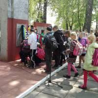 Покладання квітів до Обеліска Слави в с.Іванівка