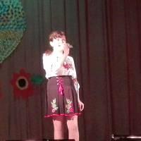 Співає Балануца Катерина. Іванівський будинок культури