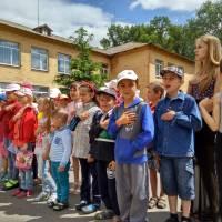 Відкриття пришкільного табору