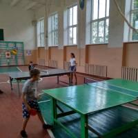 Змагання з настільного тенісу серед учнів Іванівської ЗОШ