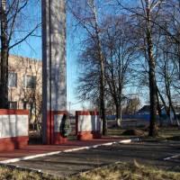 Обеліск загиблим солдатам в роки Другої світової війни в с.Іванівка