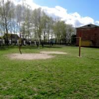 Такою була волейбольна площадка