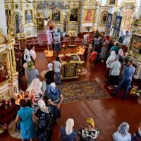 Освячення маку, меду, фруктів у Свято-Миколаївській цекві села Вертіївки