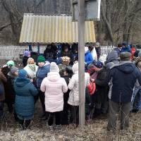 Освячення води в Ковпинській криниці