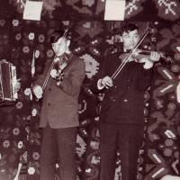 Primii instrumentisti ai orchestrei Trandafir