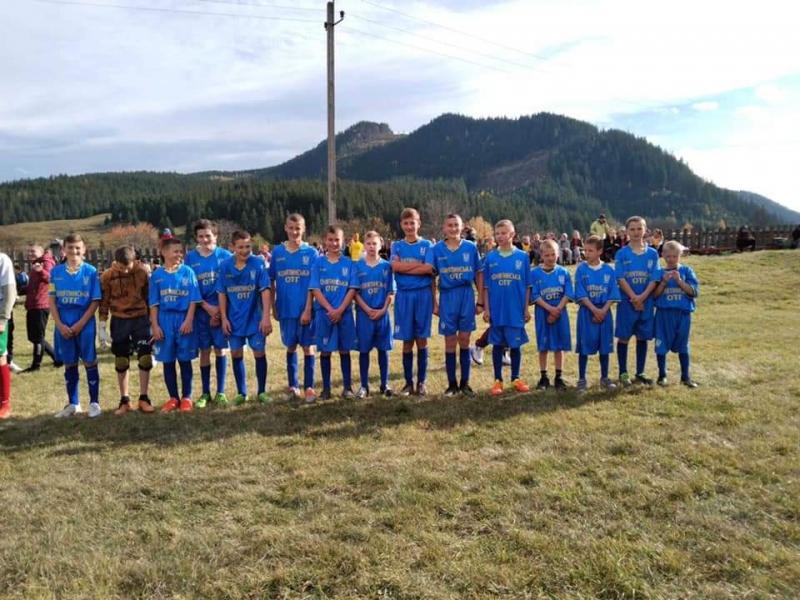 Футбольний турнір на базі Яблуницького ЗЗСО І-ІІ ступенів