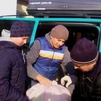 Гуманітарна допомога  жителям Авдіївки