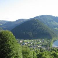 Вид на село Усть-Путила