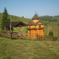 Капличка на хуторі Бочків