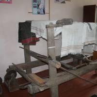 Ткацький станок в Музеї історії села