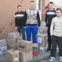 Волонтерська допомога в АТО (с.Снячів)