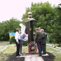 Відкриття пам'ятника Т.Шевченку в с.Вікно