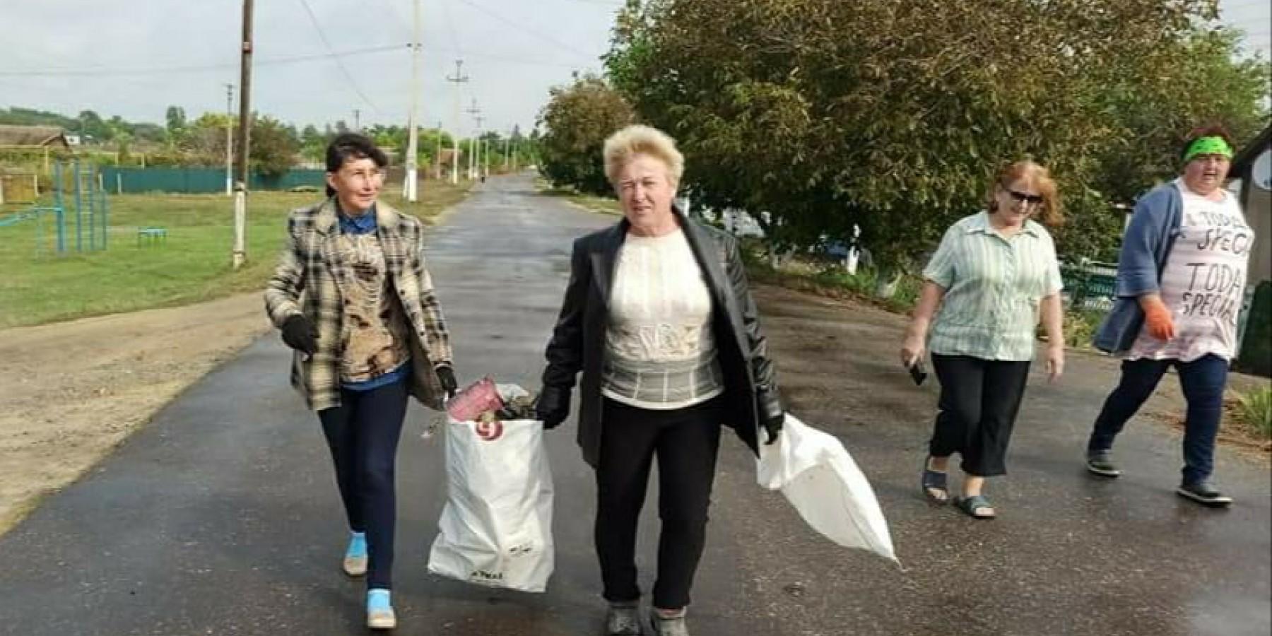 Всесвітній день прибирання у Степанівській сільській громаді