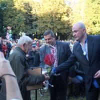 Нагородження найстаршого мешканця м. Кодима.