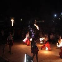 Вогняне шоу від Вінницького театру вогню