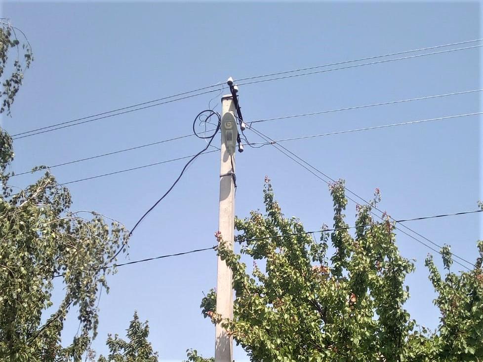 У Андріївці реконструювали мережу вуличного освітлення