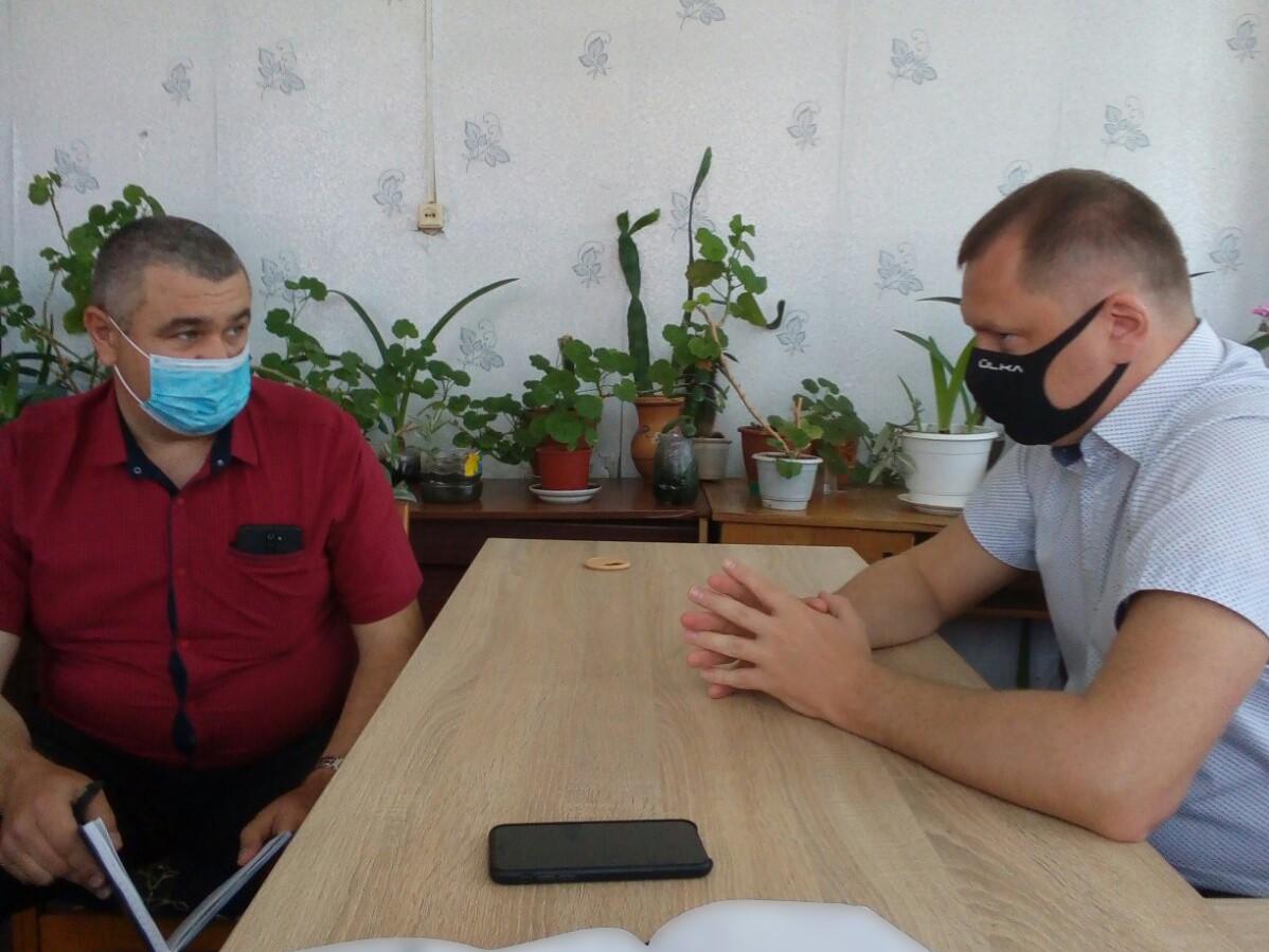 Андрій Коломійцев провів виїзний прийом громадян у Костянтинівці