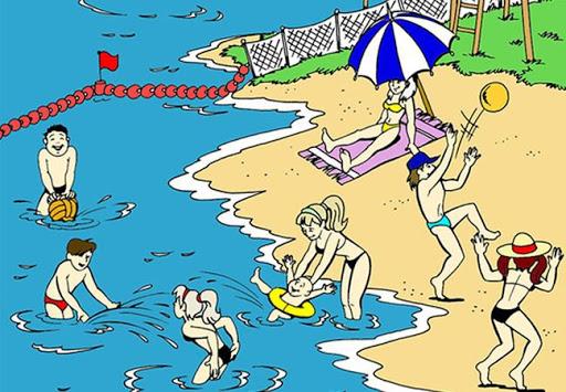 Правила поведінки на воді для дітей