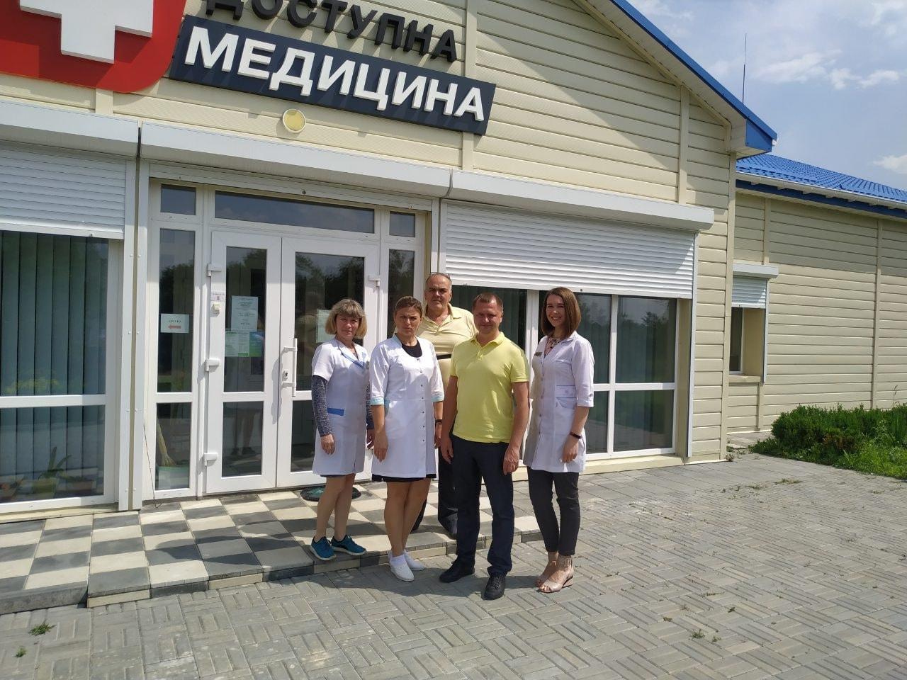 У Приютівській громаді привітали з професійним святом медичних працівників
