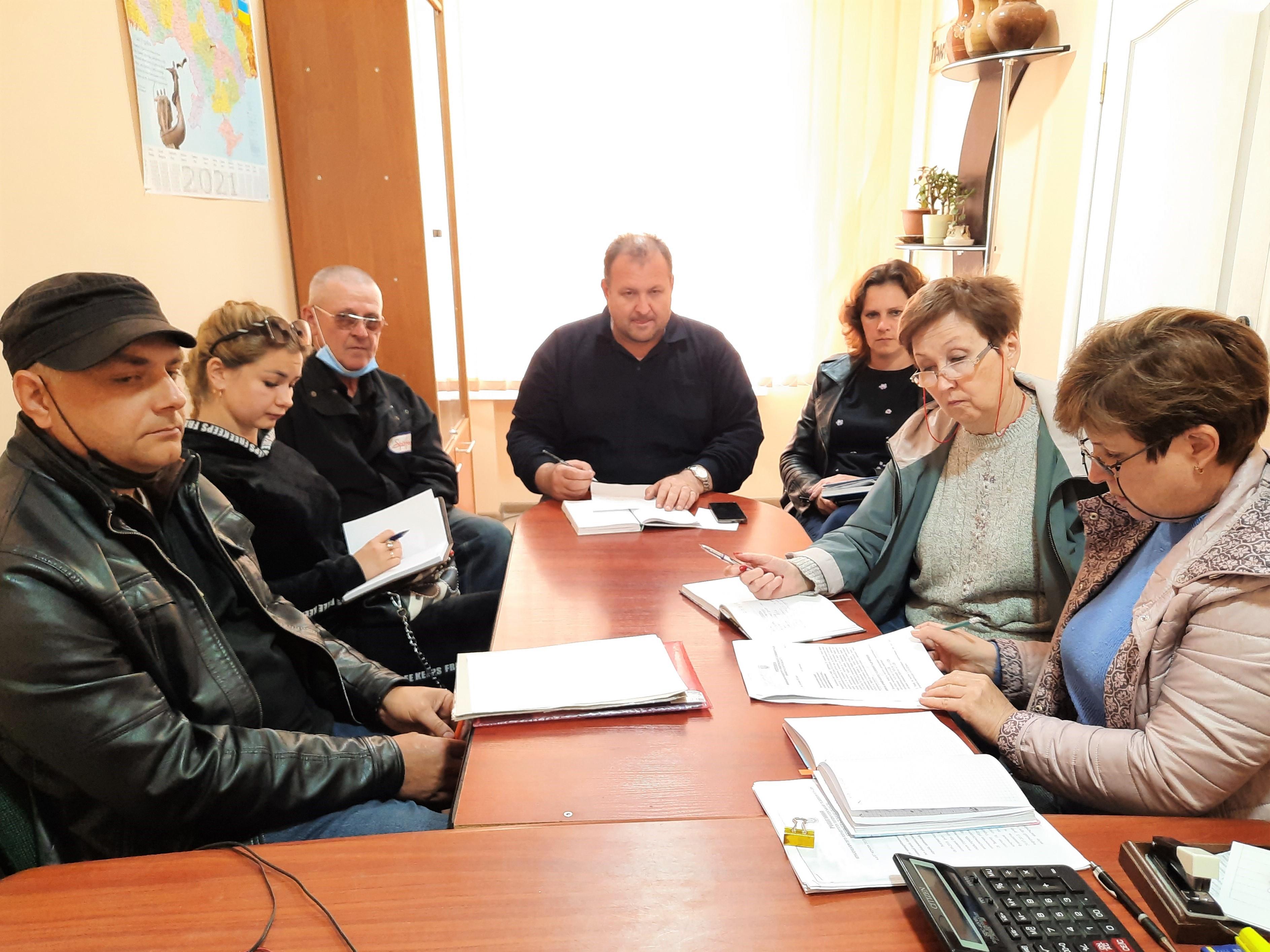 Посадовиця департаменту ЖКГ Кіровоградської ОДА поспілкувалась з представниками комунального господарства громади