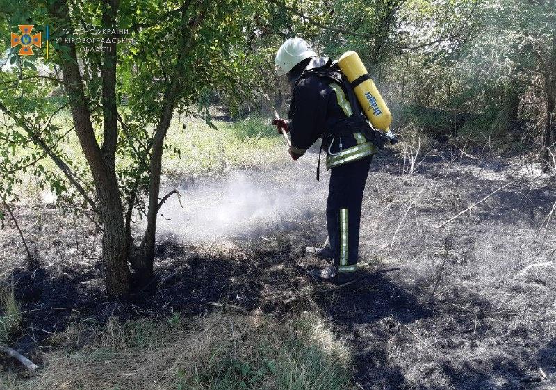 Через необережне поводження з вогнем на території громади почастішали випадки пожеж