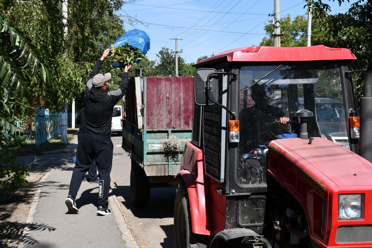 Приютівська громада активно приєдналася до акції Всесвітнього дня прибирання