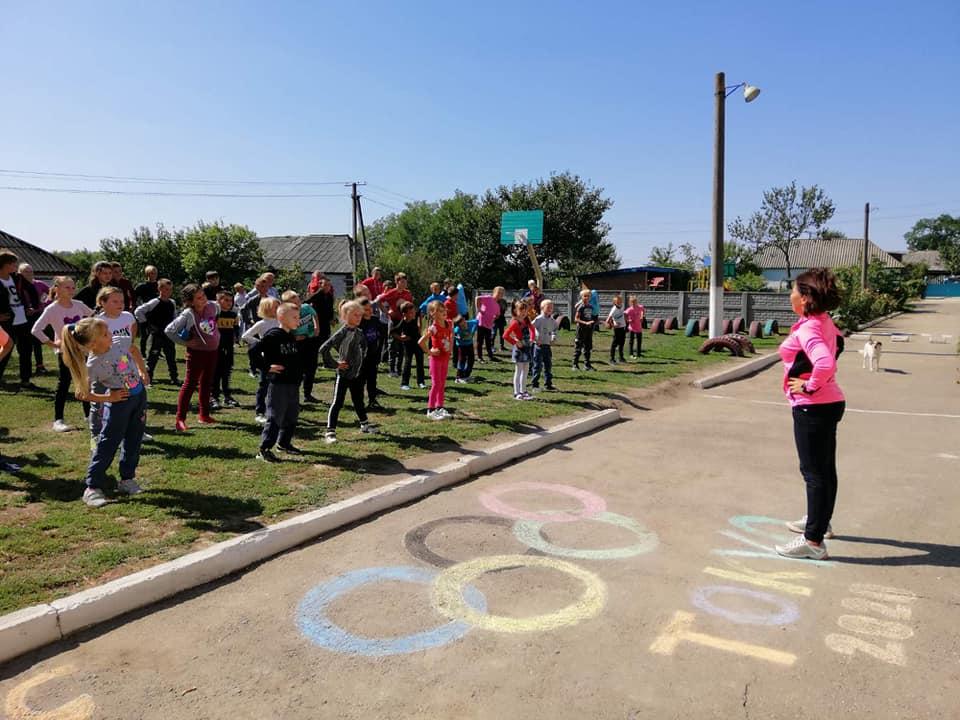 У закладах освіти громади пройшов Олімпійський тиждень
