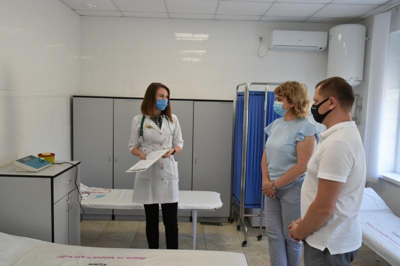 Для Протопопівської амбулаторії придбали апарат низькочастотної електротерапії
