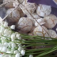 Апельсинове потріскане печиво
