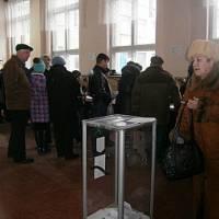 Виборча дільниця на перших виборах до ОТГ