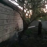 Загоранняприватного гаража